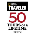 : National Geographic's TRAVELER Award